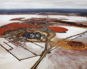 Silver Lake Operations #2, Lake Lefroy, Western Australia, 2007